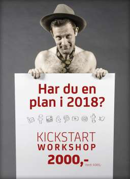 Har du en plan i 2018? Kickstart 2018 workshop 2000 kr